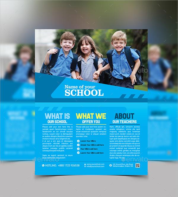 Education Flyers Bundle Template