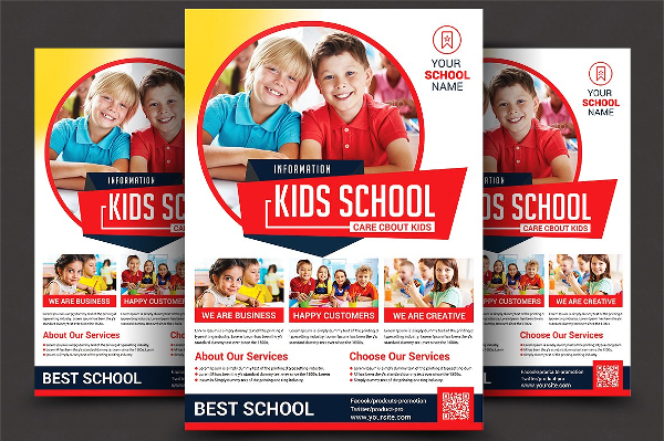 Education Service Flyer Template