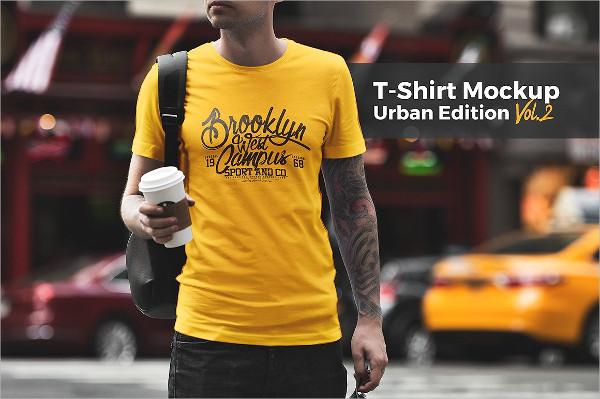 Urban Edition T-Shirt Mockup