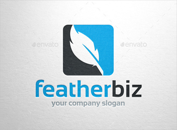 23 feather logo templates free psd ai vector eps png downloads feather business logo template cheaphphosting