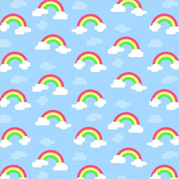 40 Rainbow Patterns Free PSDAIEPS Vector Format Downloads Mesmerizing Rainbow Pattern