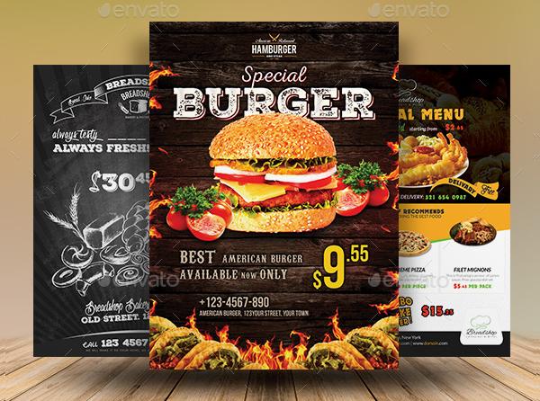 Food And Restaurant Flyer Bundle