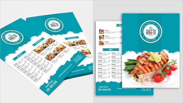 Food Menu Flyer Pack