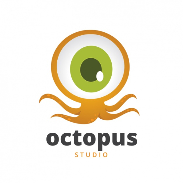 Free Download Octopus Logo Template