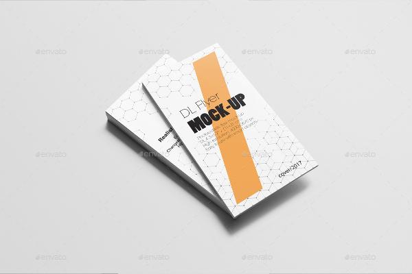 Fully Editable DL Flyer Mock-ups Bundle