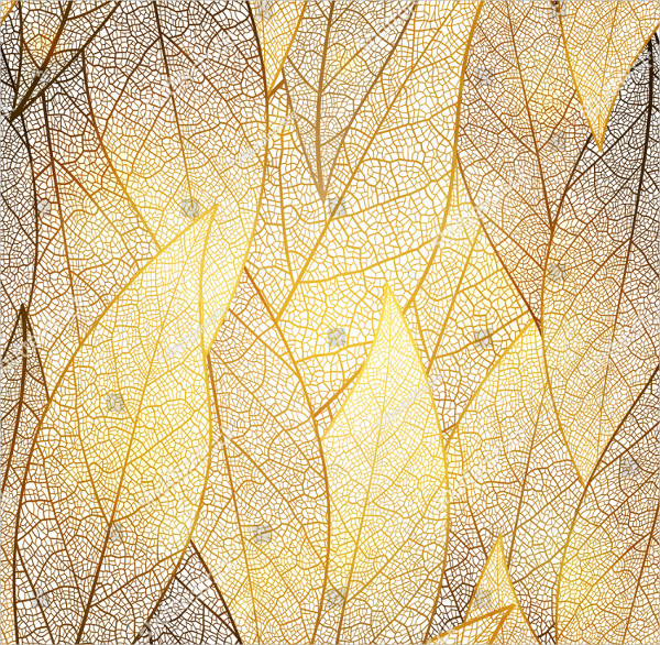 Gold Autumn Pattern