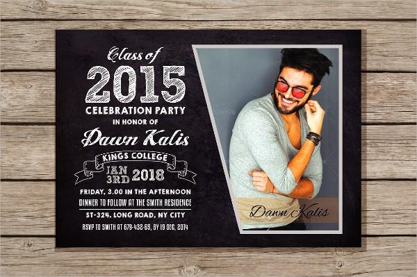 Perfect Graduation Announcement Invitation Template