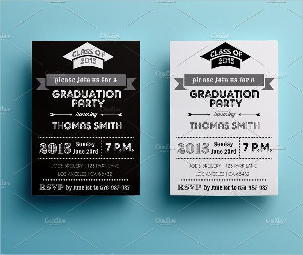 Graduation Party Invitation Design