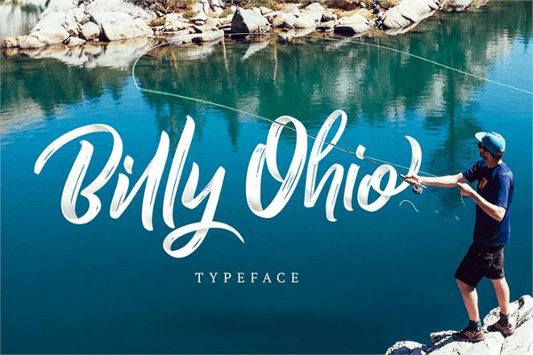 Handmade Billy Ohio Free Fonts