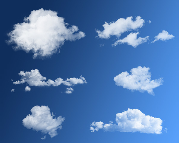 23  cloud brushes