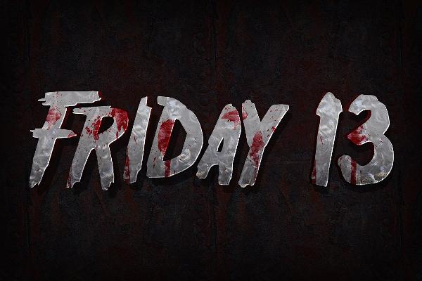 Horror Movie 3D Text Photoshop Action