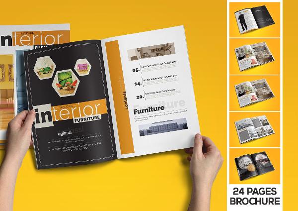 Interior Catalogue Brochure Templates