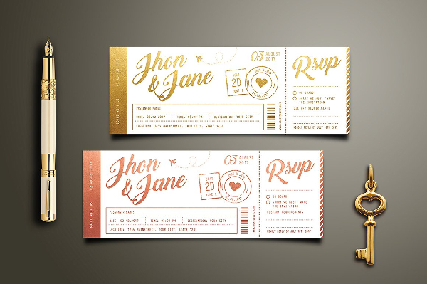 26 invitation ticket templates free premium psd vector downloads invitation ticket templates stopboris Image collections