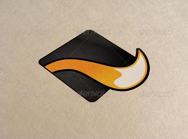 Logo on Paper Mock-Ups