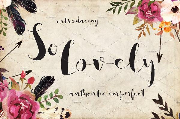 Lovely Handmade Script Fonts