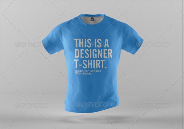 Modern Designer T-Shirt Mock-Ups