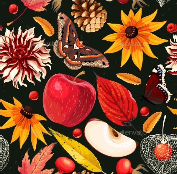 Pattern Autumn Free Vector