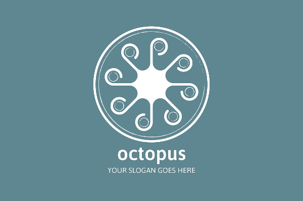 Octopus Agency Logo Template