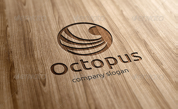 Octopus Creative Design Logo Template