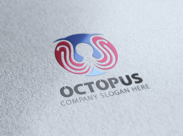 Octopus Restaurant Logo Design