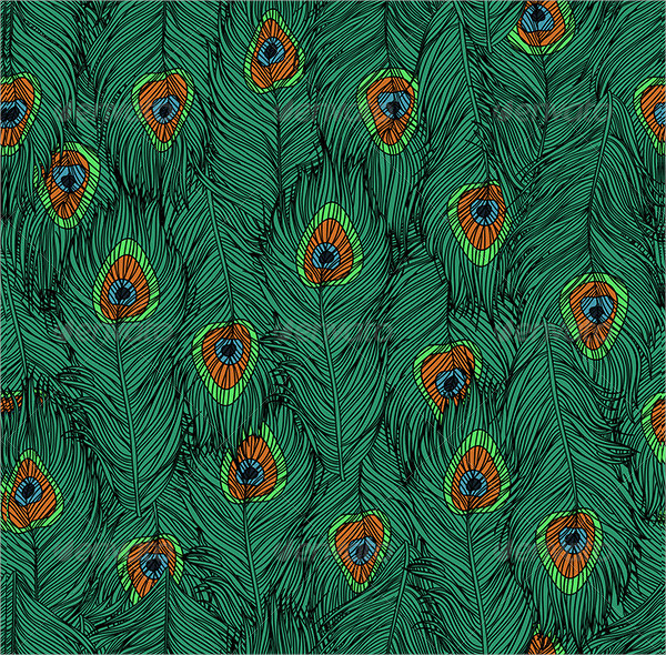 Peacock's Feathers Pattern
