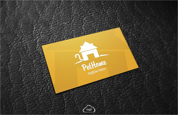 Perfect Pet Home Business Card Template
