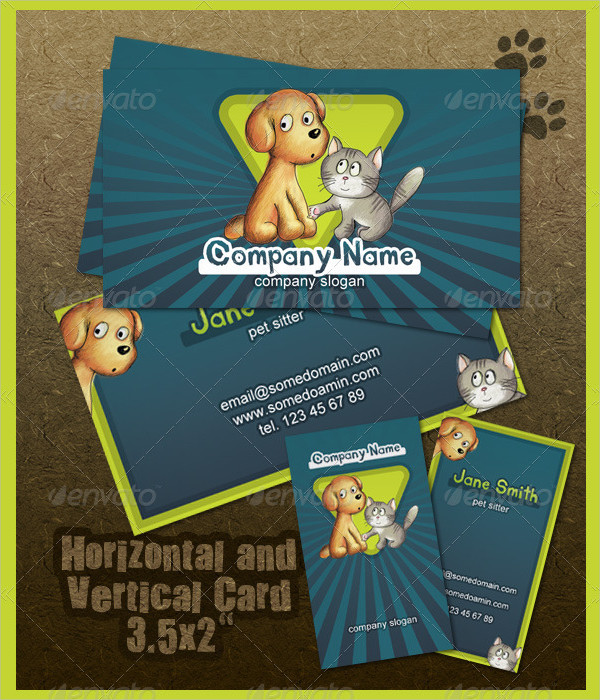 Best Pet Store Business Card Template