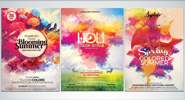 22 rainbow flyer templates free premium psd illustrator downloads