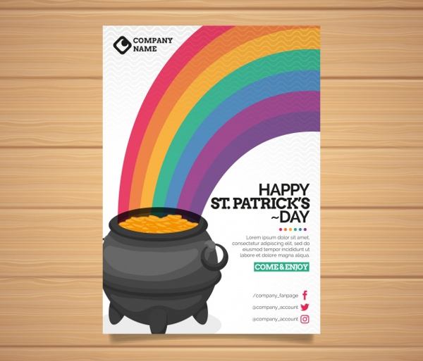 22+ Rainbow Flyer Templates