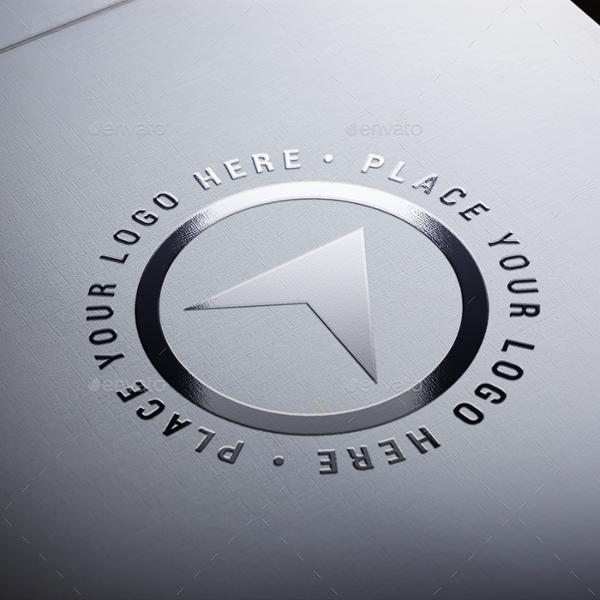 Realistic Paper Logo Mockups