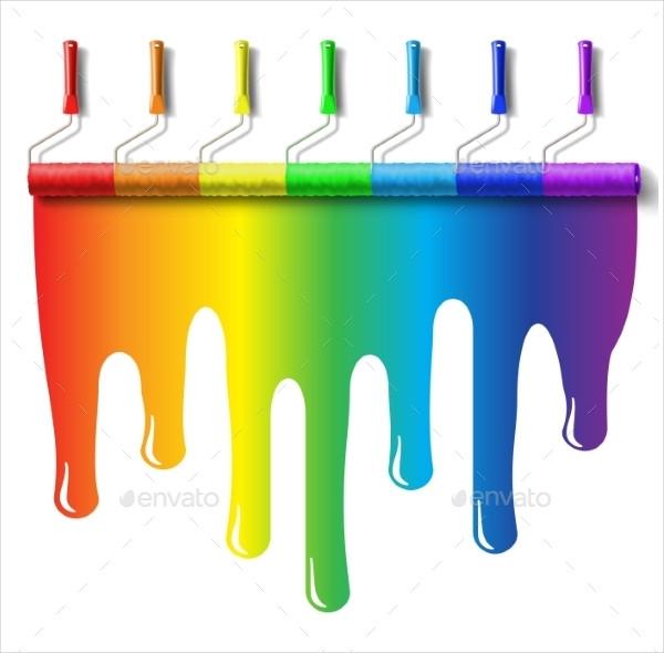 Unique Rainbow Brushes