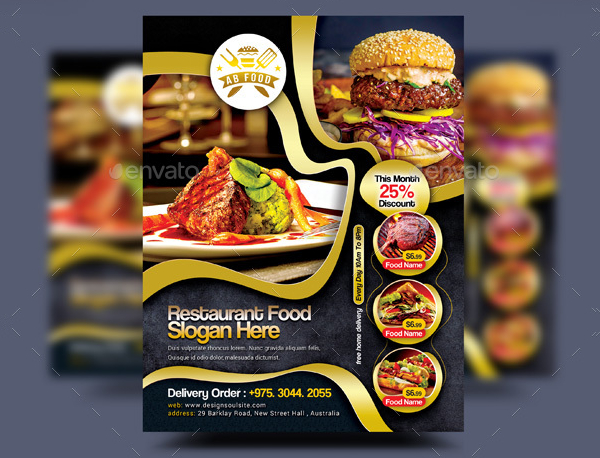 Food Flyer Templates  Free  Premium Download