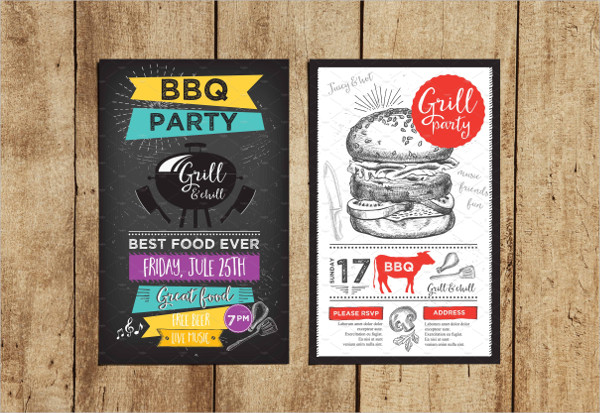 Perfect BBQ Party Invitations Templates
