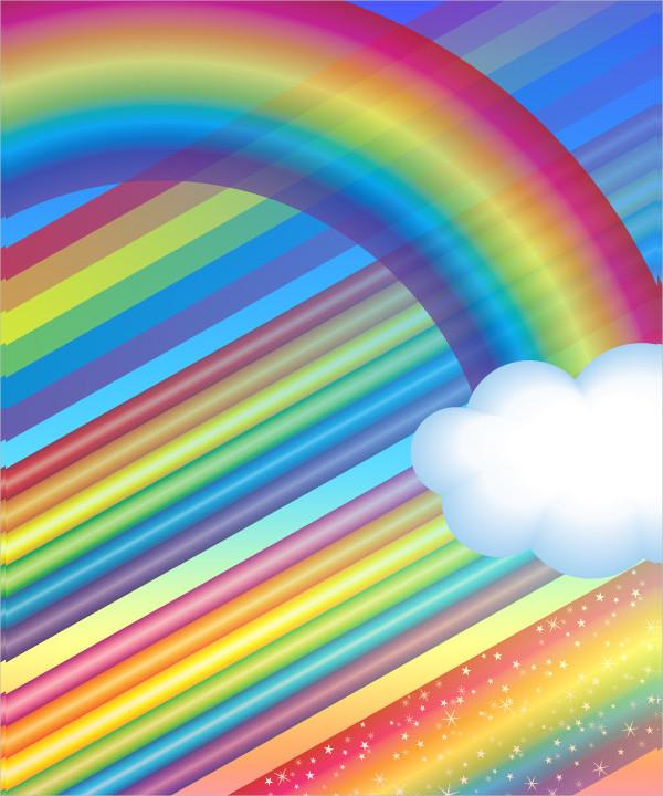 Attractive Rainbow Brushes Set