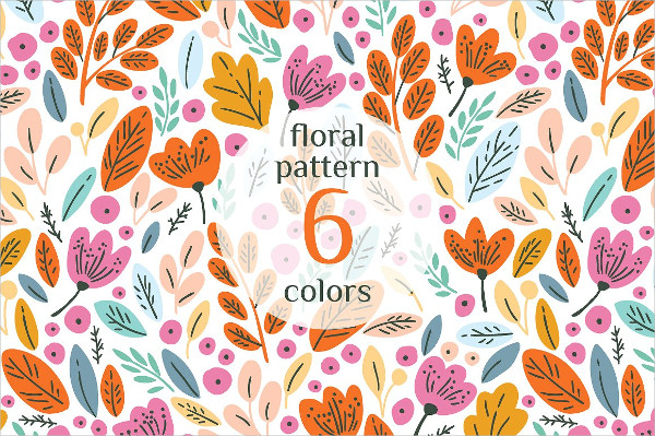 Floral Autumn Patterns