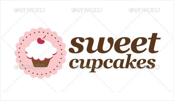 Sweet Cupcakes Logo Template