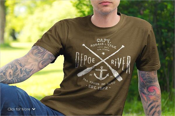 Premium Quality T-Shirt Mock-Up Set