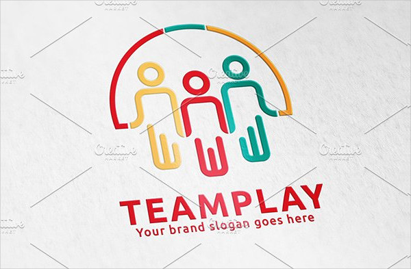 Team Play Logo Template