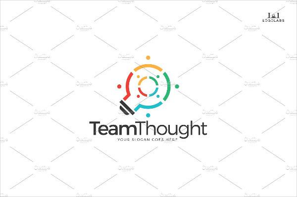 Team Thought Logo Design