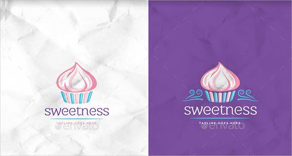 Unique Cupcakes Logo Template