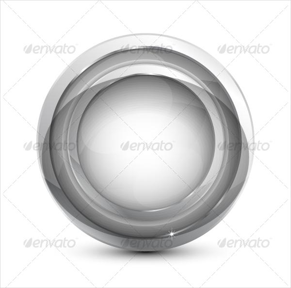 Unique Glass Template Button