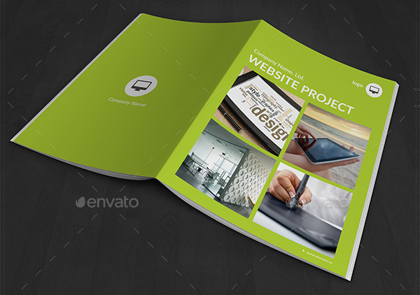Website Design Brochure Template Free Premium Download - Portfolio brochure template