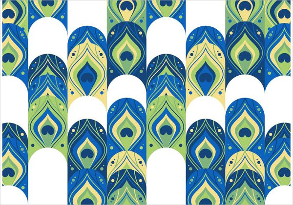 Wild Animals Peacock Pattern