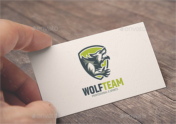 Wolf Teams Logo Template