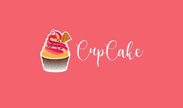 Abstract Cupcake Logo Template