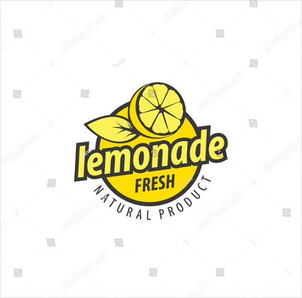 Abstract Lemon Logo Design Template