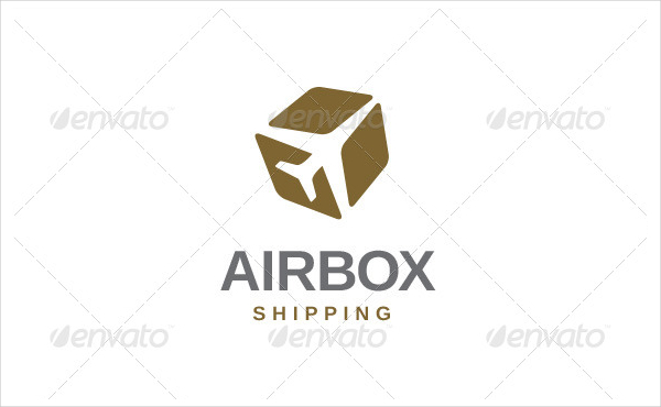 Airbox Shipping Logo Template
