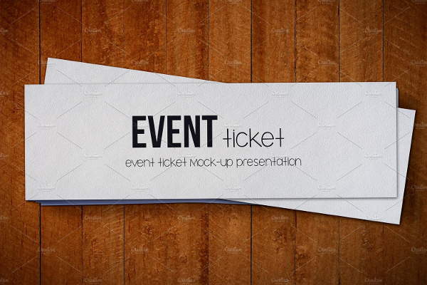 Attractive Event Tickets Mockup Pack