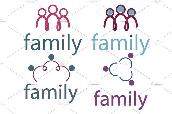 Attractive Family Logos Template