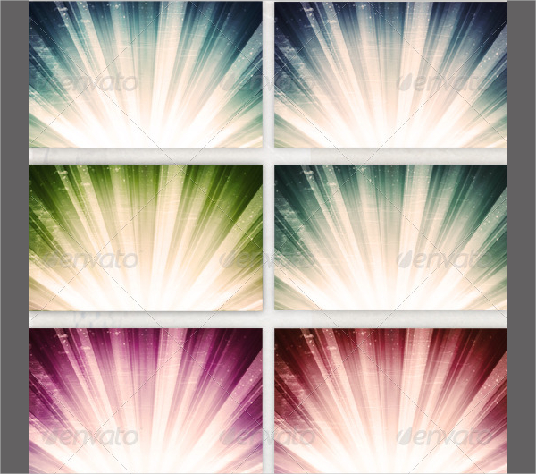 Attractive Ray Backgrounds